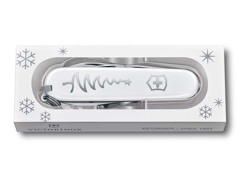 Victorinox Sackmesser Sportsman White Christmas Special Edition 2018 ...